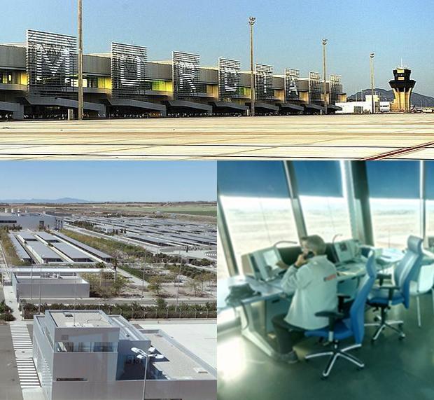 Aeropuerto internacional de la Región de Murcia; International Airport of the Region of Murcia; Aeroporto Internacional da Região de Múrcia