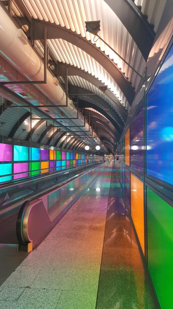 Projeto Iluminação Eficiente Aeroporto Madrid Barajas Grupo Etra