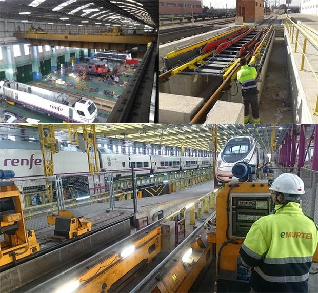 Mantenimiento Industrial y Ferroviario Integral - RENFE; Industrial and rail maintenance - RENFE