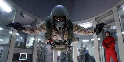 Centro de Simulación de paracaidismo; Spanish Air Force Parachute Simulation and Training Centre; Centro de Simulação de Paraquedismo